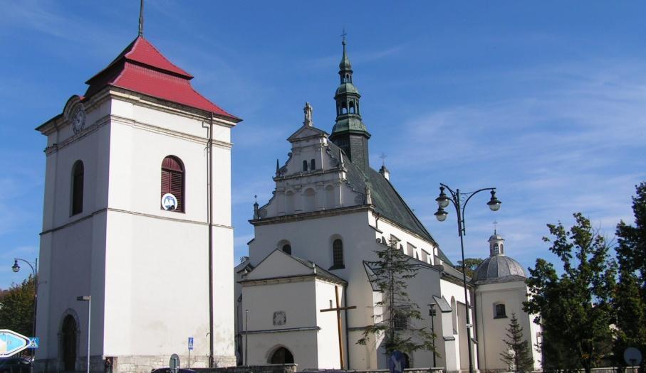 Popauliński zespół klasztorny w Pińczowie