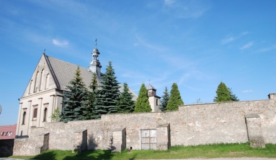 Dawny klasztor klarysek w Chęcinach