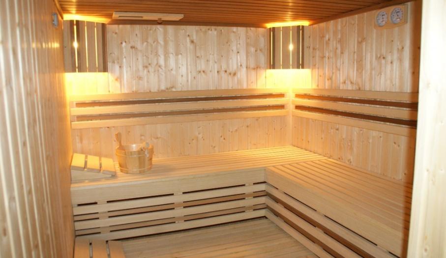 Sauna w Pensjonacie Łysica
