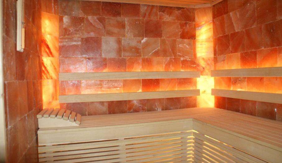 Sauna solna w Pensjonacie Łysica