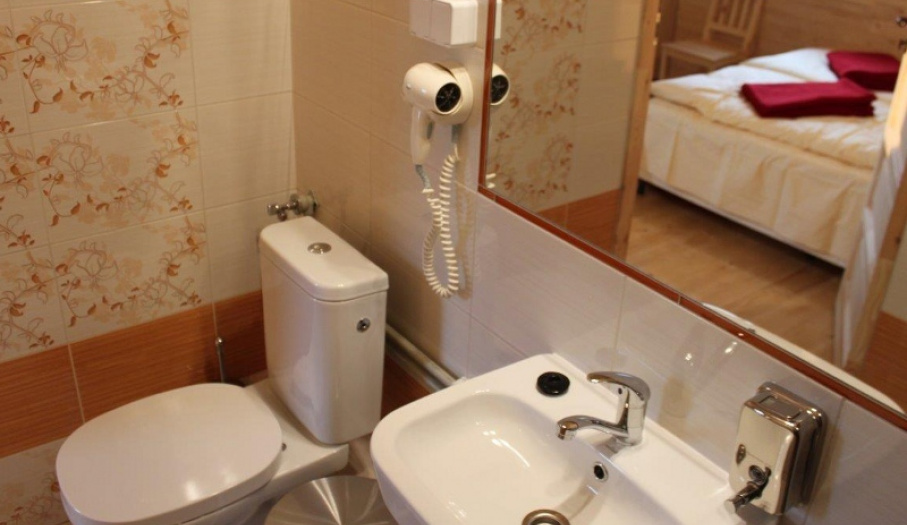 Domki parterowe - łazienka