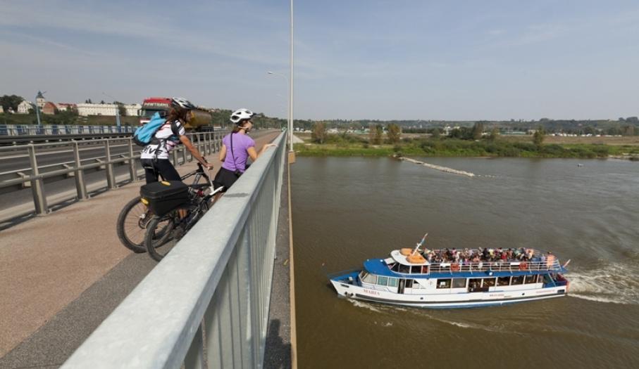 Most na Wiśle w Sandomierzu