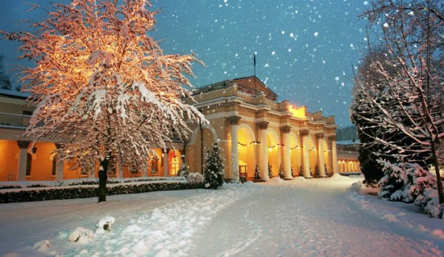 Sanatorium zimą