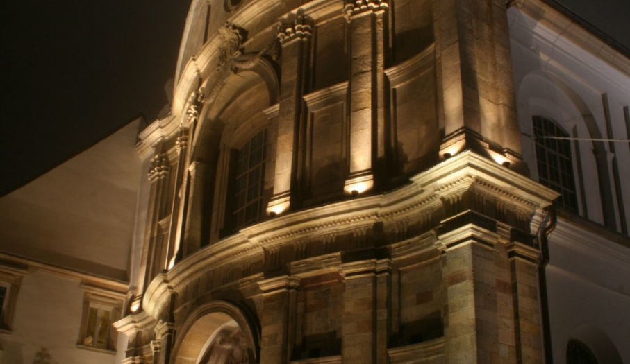 Iluminacja kościoła