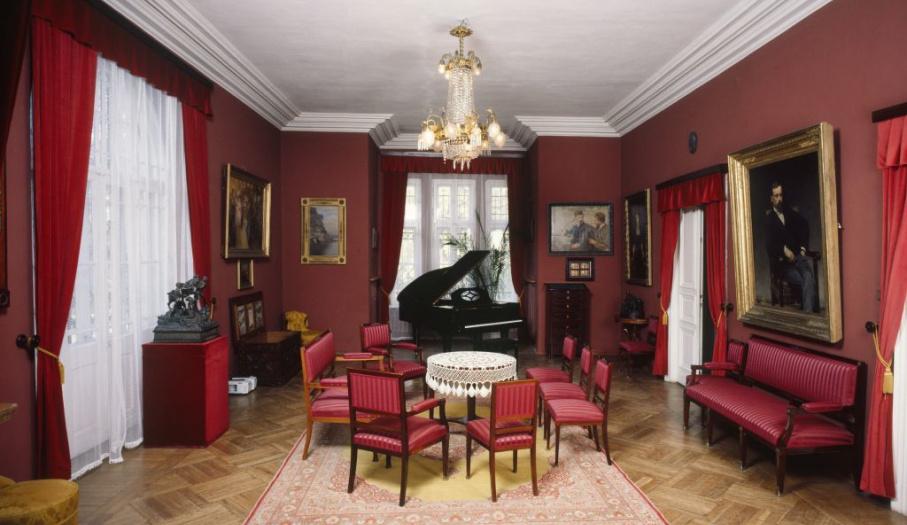 Wnętrze pałacyku Henryka Sienkiewicza