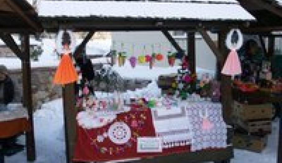Christmas Fair in Laszczyk Manor House