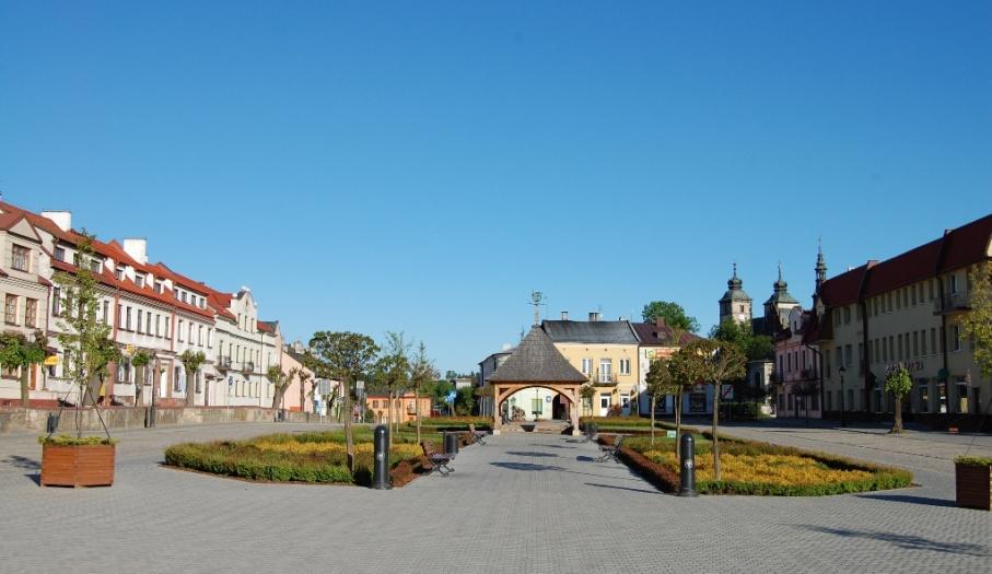 Rynek w Opatowie
