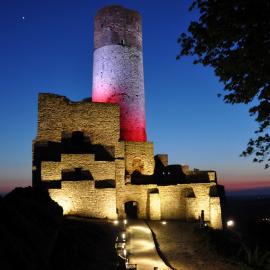 Sonda TOP 5 zamków i pałaców - głosujemy na Zamek Królewski w Chęcinach