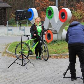 Promocja Szlaku Green Velo w Telewizji TRWAM!