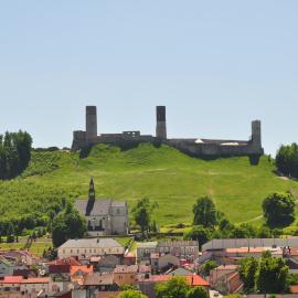 Zamek w Chęcinach - promocja Najlepszego Produktu Turystycznego