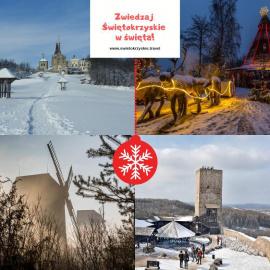 Świąteczne zwiedzanie Świętokrzyskiego - godziny otwarcia atrakcji