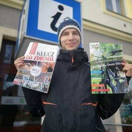"""Nowe wydawnictwa ROTWŚ - """"Klucz do zdrowia"""" i """"Informator turystyczny po Szlaku Green Velo"""""""