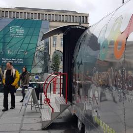 Promocja Szlaku Green Velo w Brukseli!