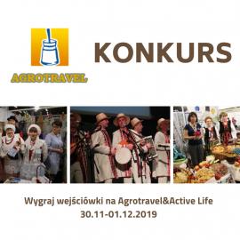 Wygraj wejścówki na Agrotravel&Active Life 2019