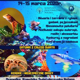 Konkurs ze Świetokrzyską Polaną - wygraj wejścówki na wystawę akwarystyczno-terrarystyczną