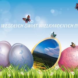 Spokojnych i radosnych Świąt Wielkanocnych !