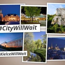 Miasto Kielce przyłącza się do akcji #CityWillWait