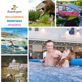 Parki rozrywki otwierają się dla turystów