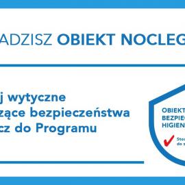AUTOCERTYFIKACJA higieniczna dla obiektów noclegowych w Polsce