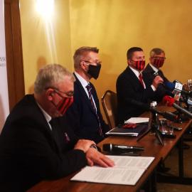 Kampania pomocyjna po Covid-19 - spotkanie i konferencja prasowa