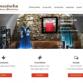 Strona internetowa Niemczówki w Chęcinach