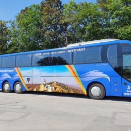 Z Kielc na Święty Krzyż. Bezpłatny autobus