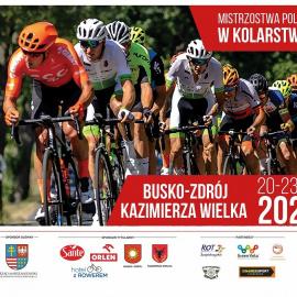 Mistrzostwa Polski w kolarstwie: Busko-Zdrój - Kazimierza Wielka. Pobierz folder informacyjny.