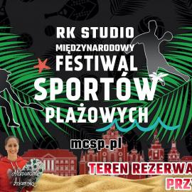 RK Studio Międzynarodowy Festiwal Sportów Plażowych Kielce 2020 !