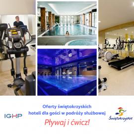 Korzystaj z basenów i siłowni w hotelach podczas podróży służbowej