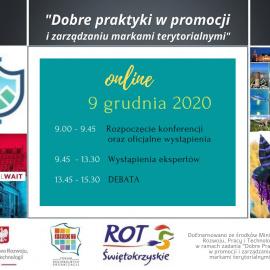 """""""Dobre praktyki w promocji i zarządzaniu markami terytorialnymi"""" - zaproszenie do udziału w konferencji"""
