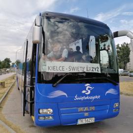 Bezpłatny autokar turystyczny z Kielc na Święty Krzyż