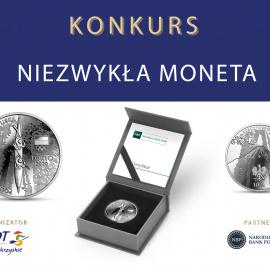 Niezwykła moneta - konkurs z Narodowym Bankiem Polskim