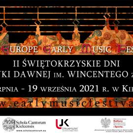 Muzyka, nauka i piękno - II Świętokrzyskie Dni Muzyki Dawnej