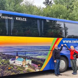 Bezpłatny autokar turystyczny z Kielc na Święty Krzyż - podsumowanie