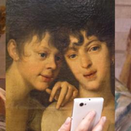 Selfie w muzeum