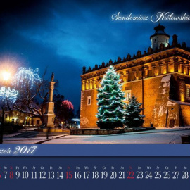 Piękne kalendarze ze zdjęciami Sandomierza