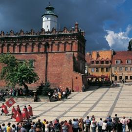 Jarmark jagielloński i stoisko GREEN VELO w Sandomierzu