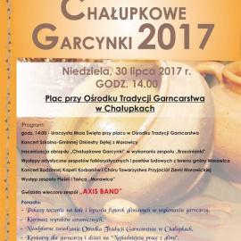 Chałupkowe Garcynki 2017